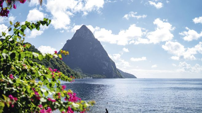Mountain in St Lucia