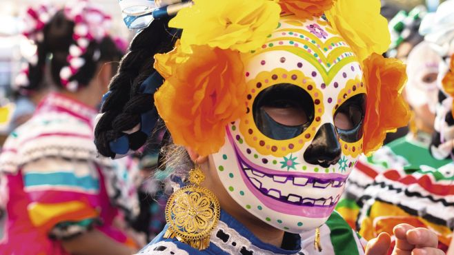 Mexico day of the dead festival